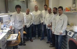 El personal de laboratorio
